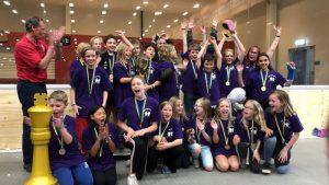 Segrande lag 2019 blev Essingeskolan 4d från Stockholm